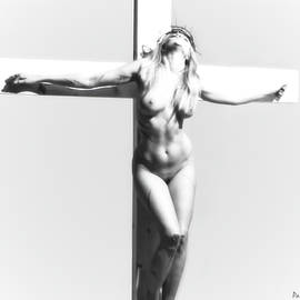 Ramon Martinez - Womanon crucifix Ligh V