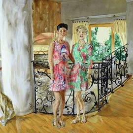 Women In Sunroom by Ryan Demaree