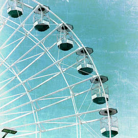 Marianne Campolongo - Wonder Wheel and Plane Series 3 Blue