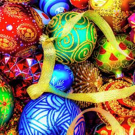 Wonderful Ornaments And Ribbon - Garry Gay