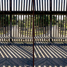Brian Wallace - Wood And Shadows - 3D Stereo X-View
