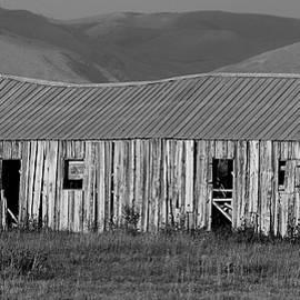 Heidi Fickinger - Wooden Hay Barn in Afternoon Light