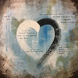 Germaine Fine Art - Words of LOVE