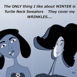 Wrinkles by Iris Gelbart