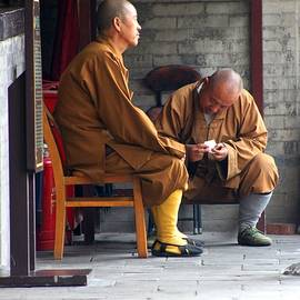 Xian Monks by Thomas Marchessault