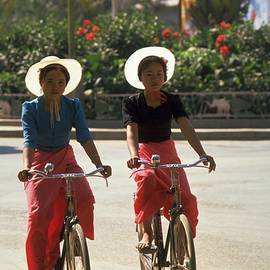 Xishuangbanna Cyclists by Travel Pics