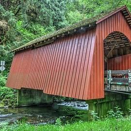 Yachats Covered Bridge by Harold Rau