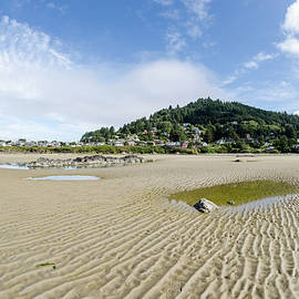 Yachats River At Low Tide by Margaret Pitcher