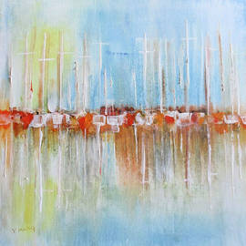 Valerie Anne Kelly - Yachts in the Marina