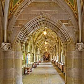Susan Candelario - Yale University Cloister Hallway