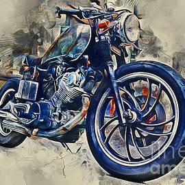 Ian Mitchell - Yamaha Motorbike