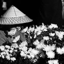 Yangon Flower Seller by Joshua Van Lare