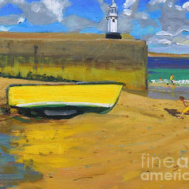 Andrew Macara - Yellow Boat, St Ives