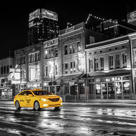 Gregory Ballos - Yellow Cab - Nashville Black and White