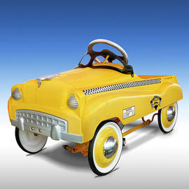 Yellow Cab Peddle Car by Mike McGlothlen