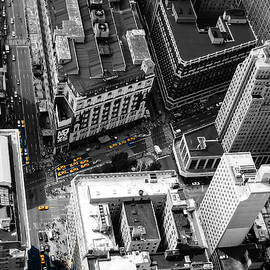 Yellow Cabs, Manhattan by Aashish Vaidya