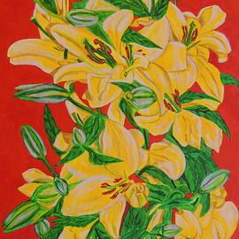 Ajay Harit - Yellow Flowers