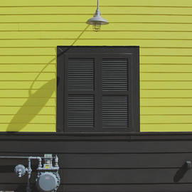 Yellow, Gray, Black and White by Claudia O'Brien