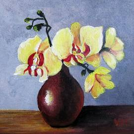 Vesna Martinjak - Yellow orchid