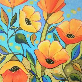Peggy Davis - Yellow Poppy