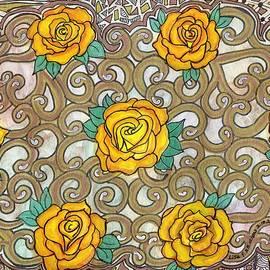 Lisa Hinshaw - Yellow Rose Doily