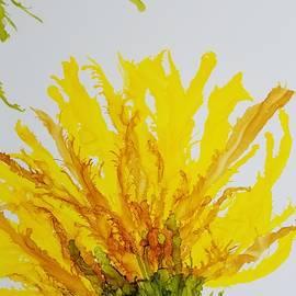 Gerry Smith - Yellow Spider Mum