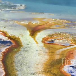 Teresa Zieba - Yellowstone Abstract III
