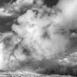 Yellowstone Geyser by Diane Hawkins