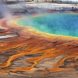 Darren Patterson - Yellowstone prismatic spring