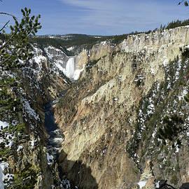 Jeff Brunton - Yellowstone River, Lower Falls 7