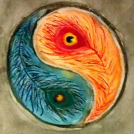 Yin Yang by Jennie Hallbrown