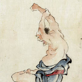 Yoga Exercise Japan 1800s - PD