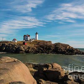 Mim White - York Maine Lighthouse The Nubble