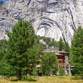 Yosemite - Ahwahnee Hotel and Granite Cliffs by Glenn McCarthy Art and Photography