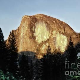 Yosemite Half Dome Landscape by Toula Mavridou-Messer