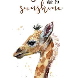You Are My Sunshine Giraffe - Olga Shvartsur