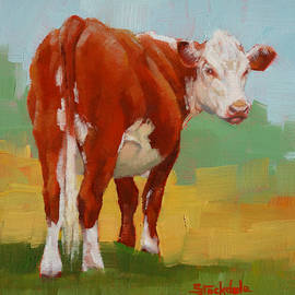 Margaret Stockdale - Young Cow