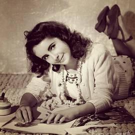 Esoterica Art Agency - Young Elizabeth Taylor, Hollywood Legend