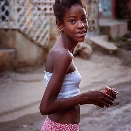 Joan Carroll - Young Girl in Trinidad Cuba