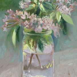 Young Mountain Laurels - Catherine Twomey