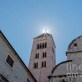 Zadar, Croatia, Bell Tower by Kay Brewer