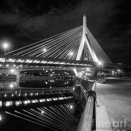 Zakim Bridge And Charles River, Boston, Massachusetts #92317 by John Bald