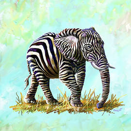 Anthony Mwangi - Zebraphant