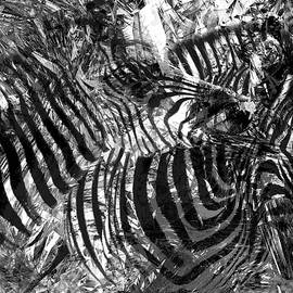Rayanda Arts - Zebras Camouflaged - African Wildlife Abstract