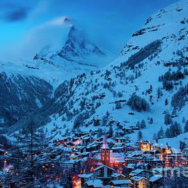 Brian Jannsen - Zermatt with Matterhorn