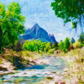 Zion National Park by Jerome Stumphauzer