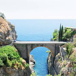 Anastasy Yarmolovich - zroad of Amalfi coast, Italy