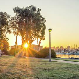 A Spanish Landing Sunrise by Joseph S Giacalone