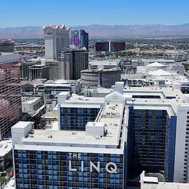 A Vegas Aerial from Atop the High Roller, Las Vegas, NV, USA by Derrick Neill