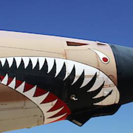 An F-105G Thunderchief, Tucson, Arizona by Derrick Neill